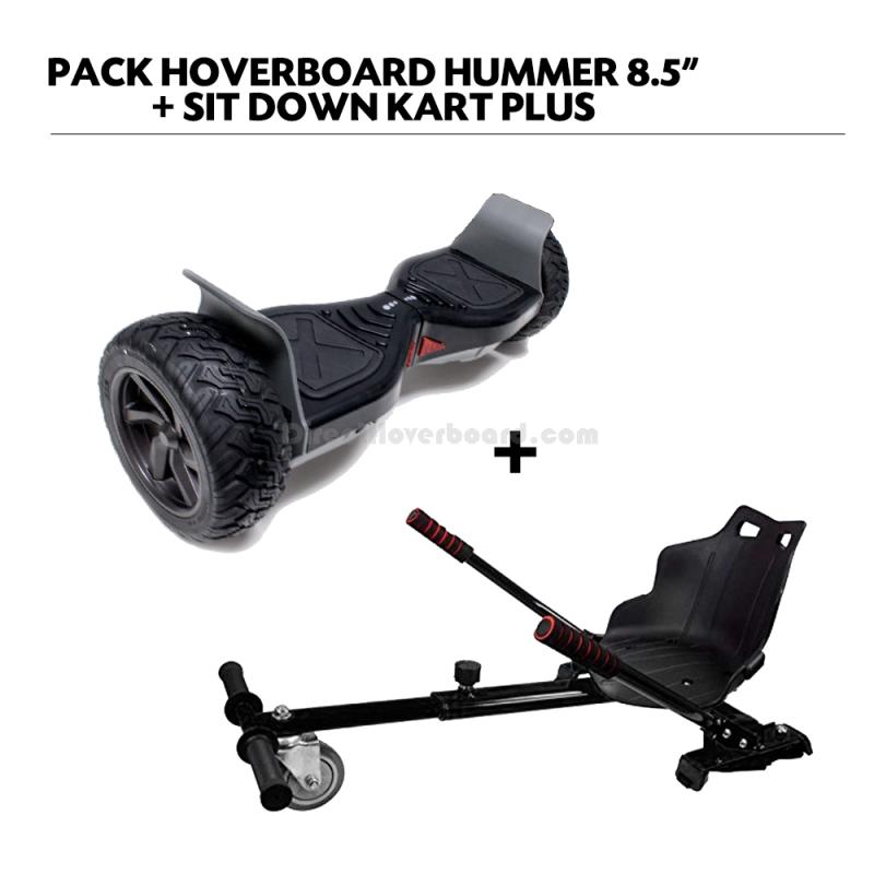Hoverboard Cross + hoverkart
